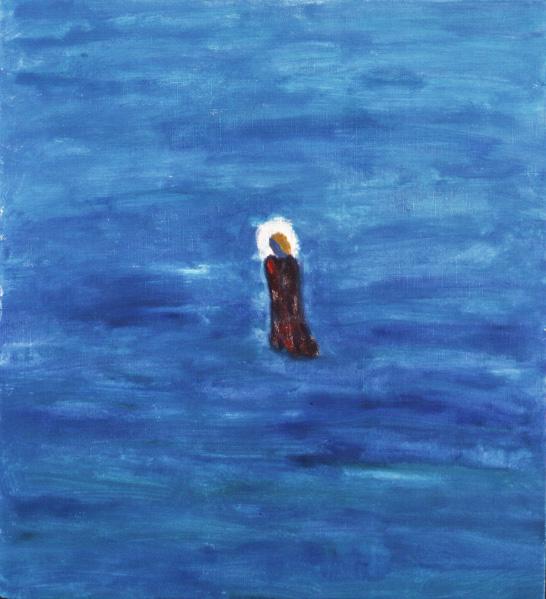 Walking on water. 1998