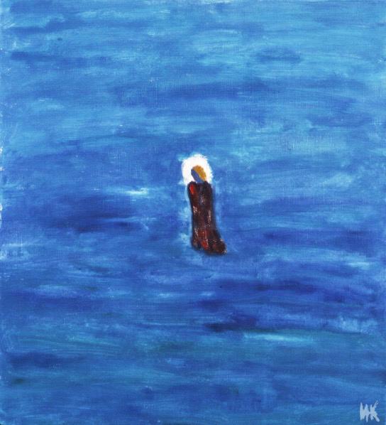 Walking on Water. 2001