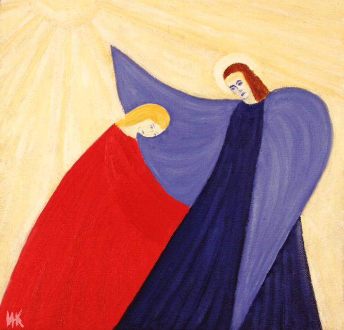 Annunciation. 1998-1999