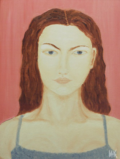 Anyta's Portrait. 2000