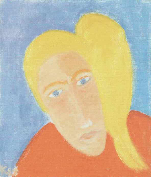 Girl's Portrait. 1998