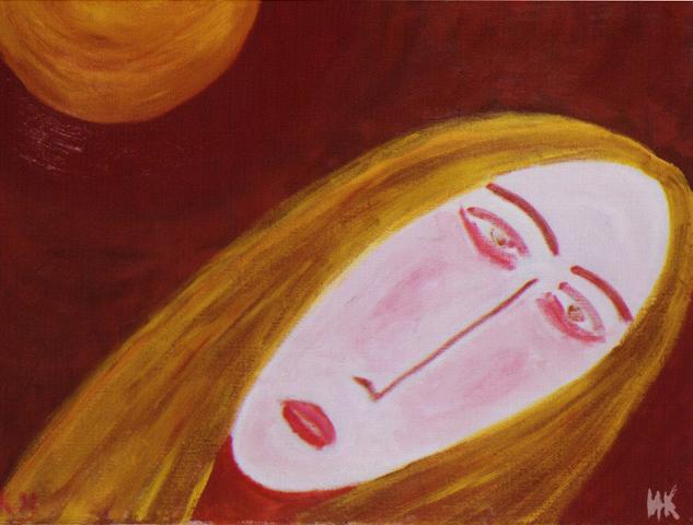 After. Сanvas, tempera. 1998