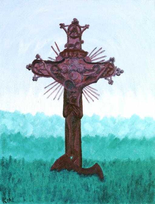 Forgotten Europe. Crucifix. 1999
