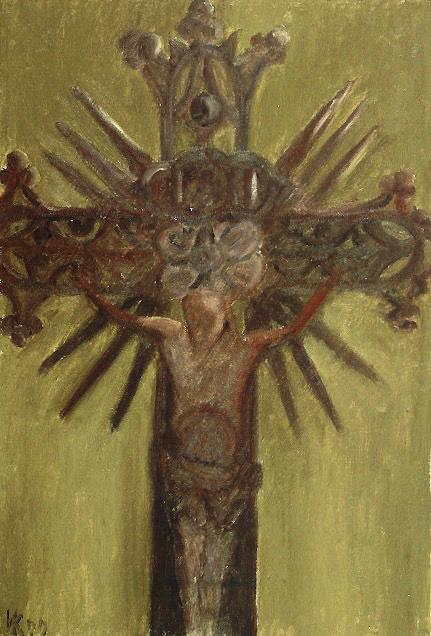 The crucifixon. Forgotten Europe. 1999