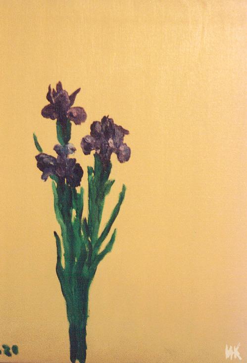 Irises. 2000