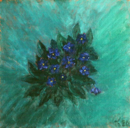 Bouquet of Violets. 2000