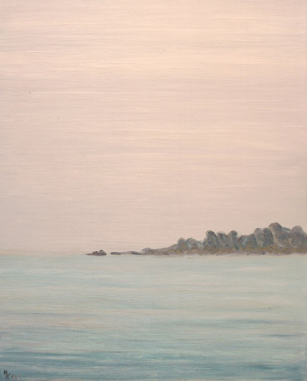 Silver mist. Ladoga. 2000