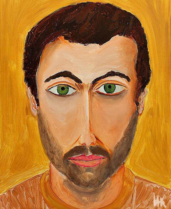 Portrait. (80х60). 2011