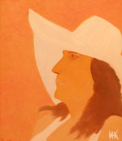 Olga Petrovna's Portrait. 2000