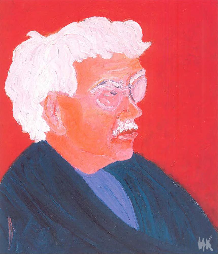 Arkady's Portrait (60х51). 1999