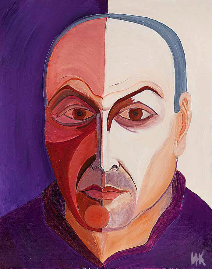 Galina's Portrait (100х80). 2011
