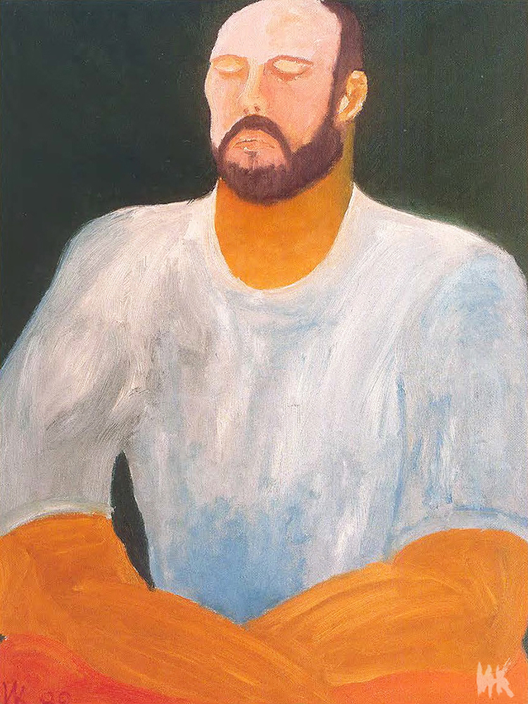 Meditation (80х60). 1999