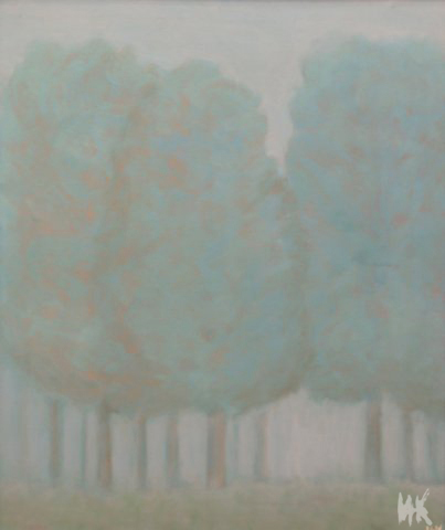 Grove in a Fog. 2001