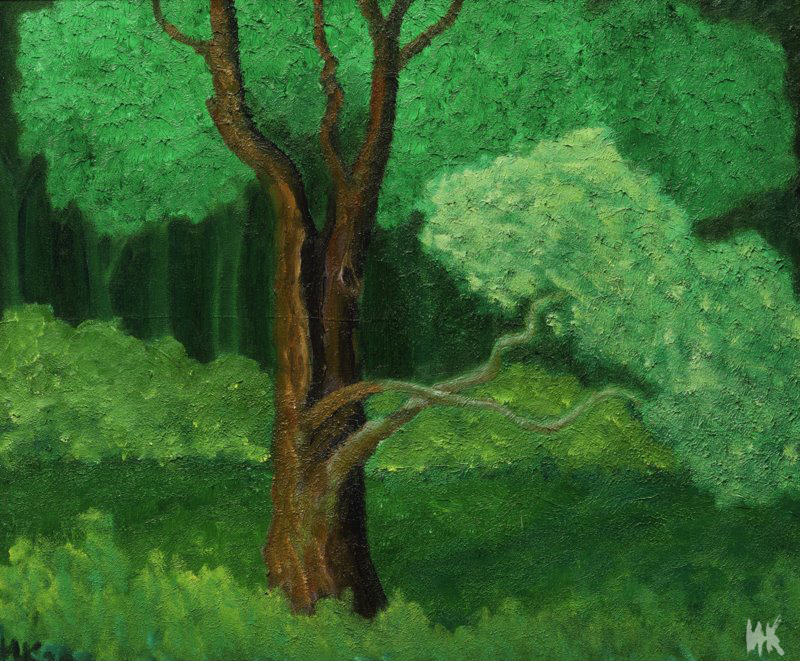 Oak Portrait (60х50). 2000