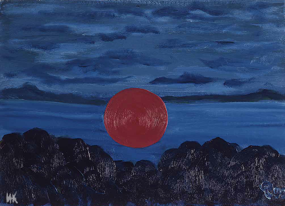 Night (40х60). 2000