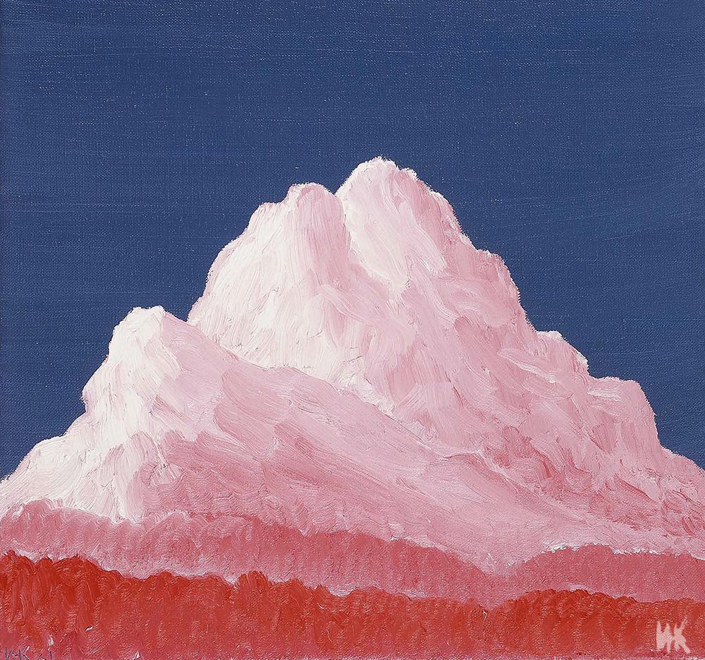 Pink Mount (50х60). 2001