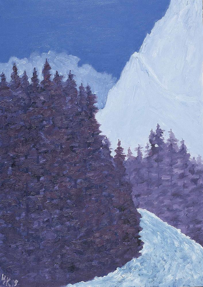 Secret Path (60х40). Canvas, oil. 1999