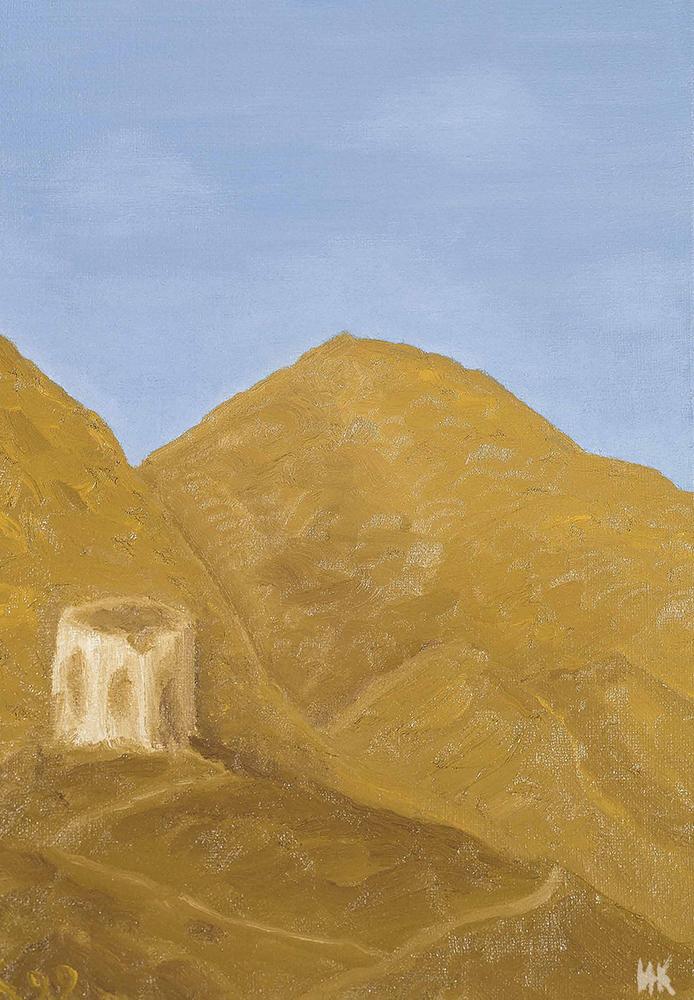 Time (50х40). Сanvas, oil. 1999