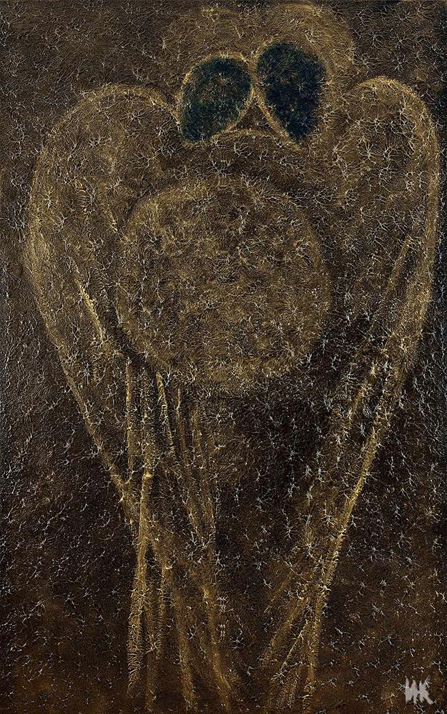 Ancestors Gold (central part of triptych 200х140). 2010-2011