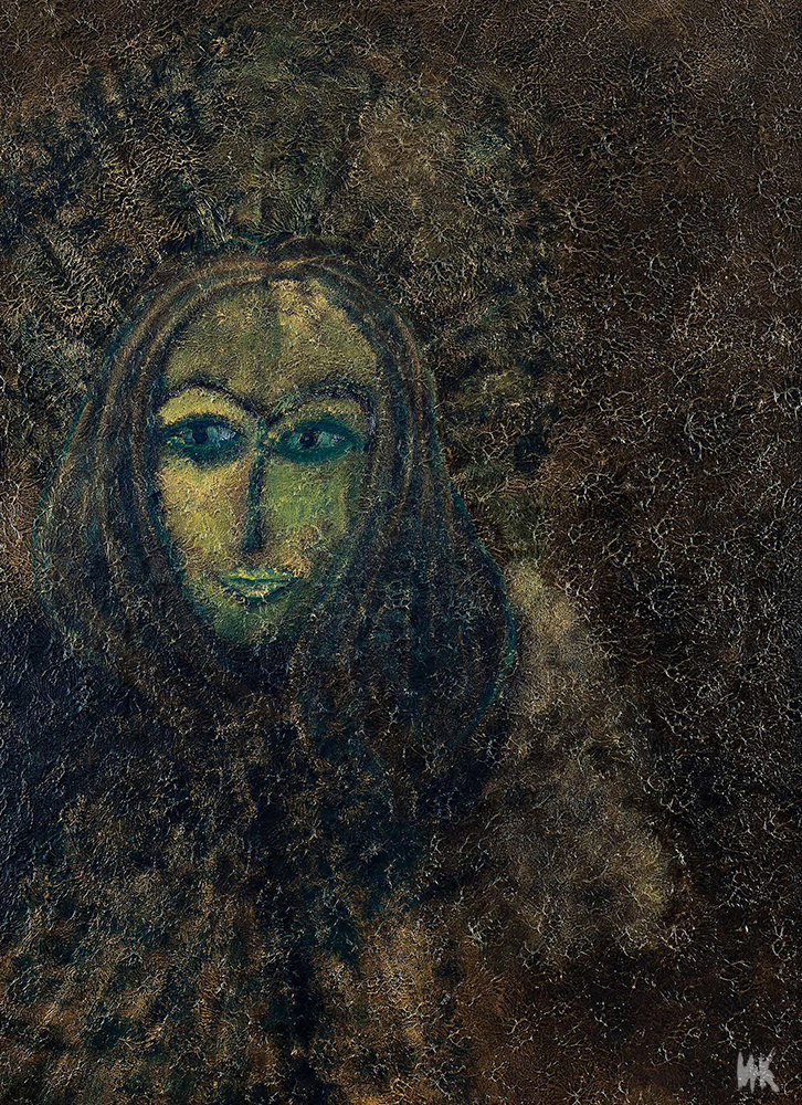 Ancestors Gold (right part of triptych 200х140). 2010-2011
