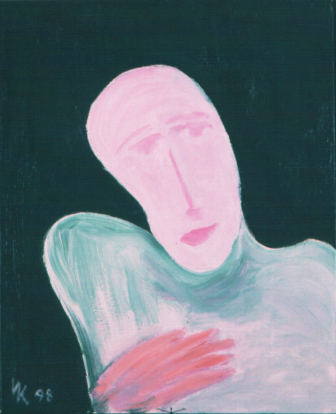 Man with a Pink Face. 1998