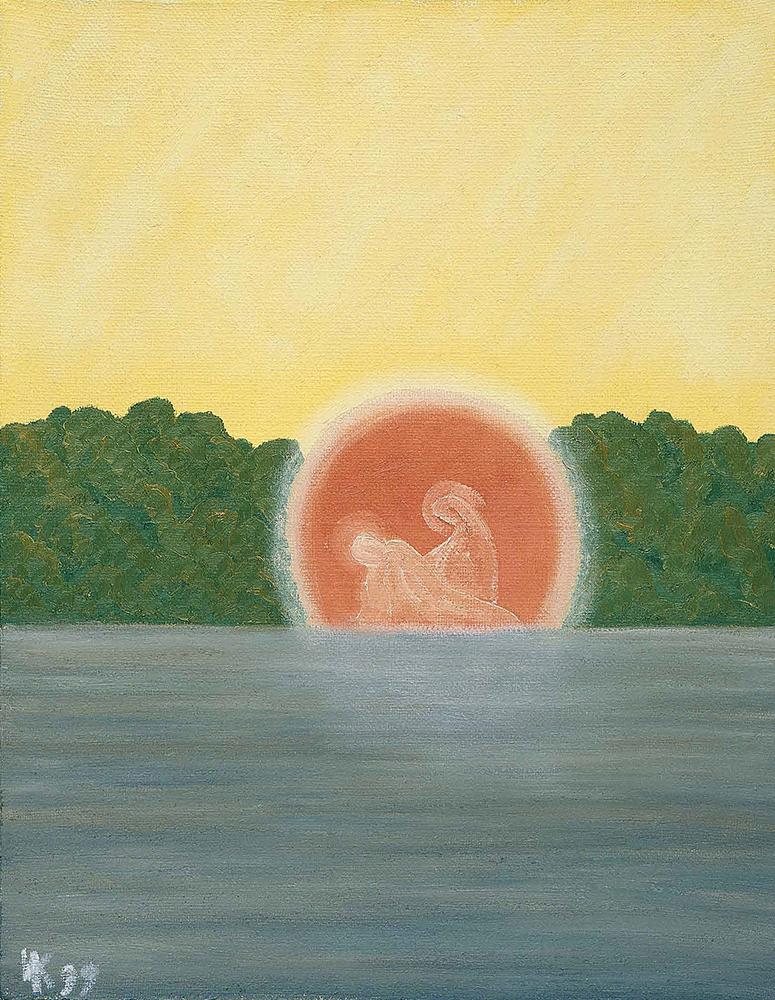 Pieta's Vision (80х60). 1999