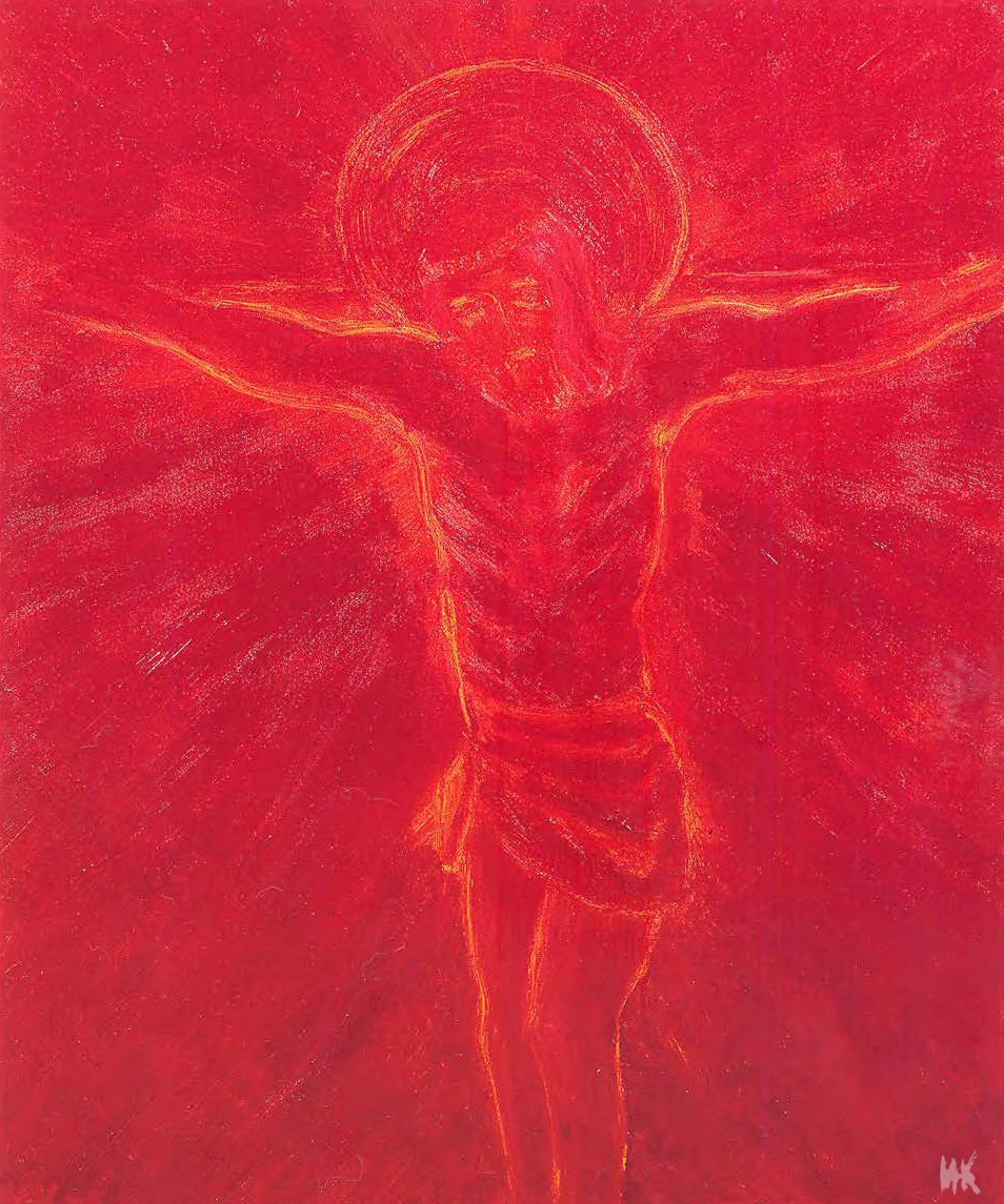 Black Sun of Golgotha (100х80). 2001