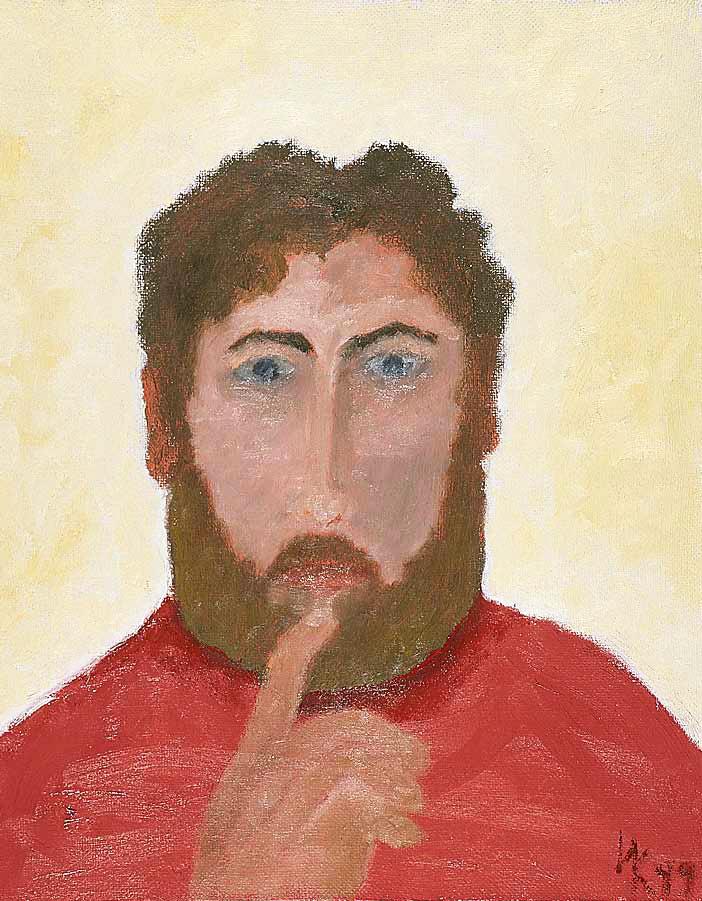 Apostle (60х40). Canvas, oil. 1999