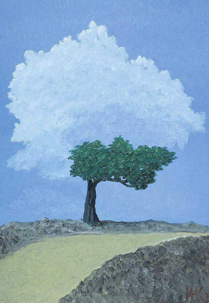 Alone (120х80). 2001