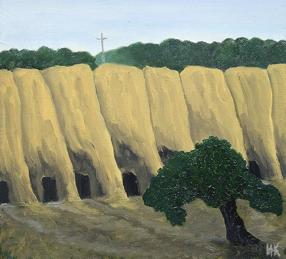 Loneliness (50х60). 2001-2002
