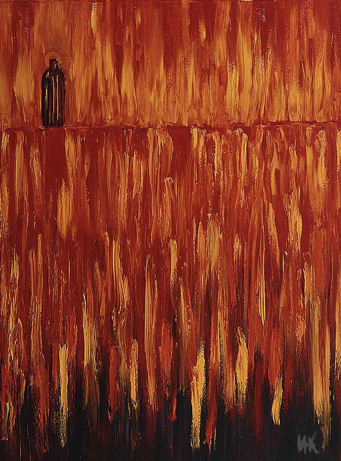 Mystery of Fire (90х70). 1999