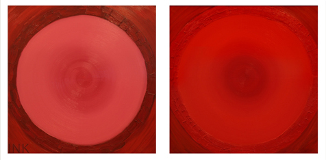 The Birth of the Planets (100х100). Сanvas, oil. 2005