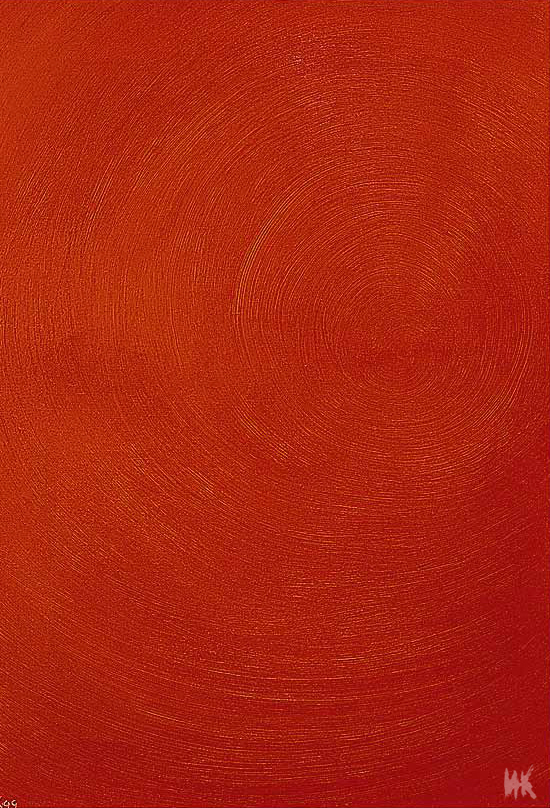 Entry Into the Fire (the left part of the triptych 60х80). 1999