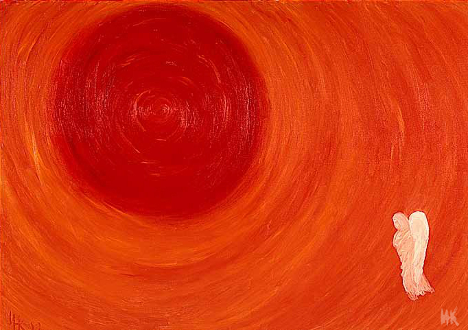 Entry Into the Fire (120х85). 1999