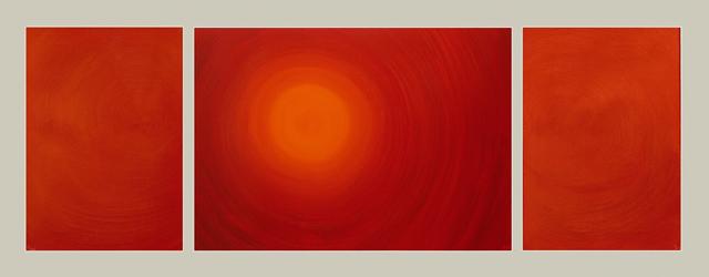 Entry Into the Fire (triptych 60х80/120х85/60х80). 1999