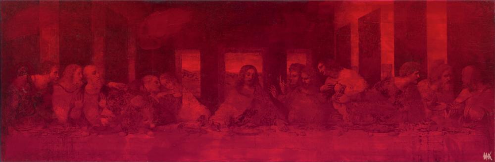 The last supper. Spirit. Flesh. Blood