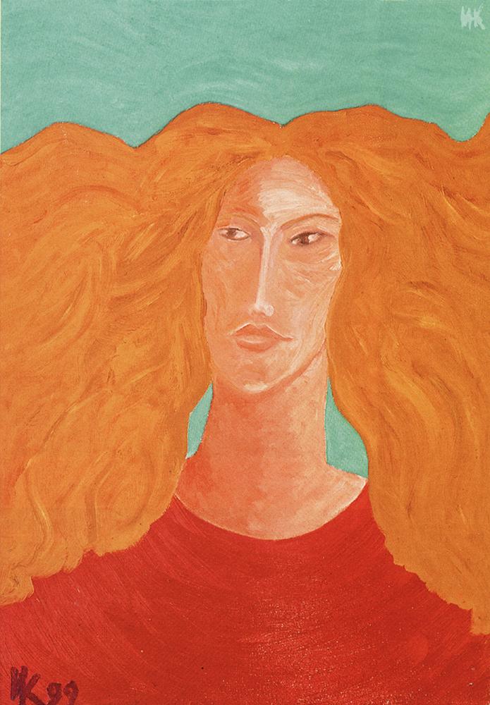 Incredible Woman (100х70). 1999