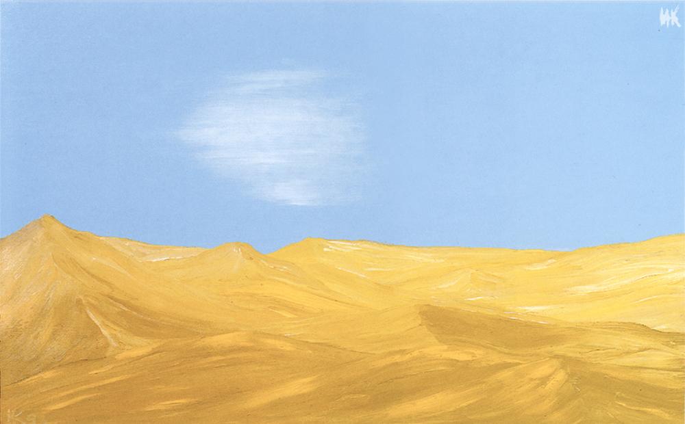 Desert Song (60х80). 1999