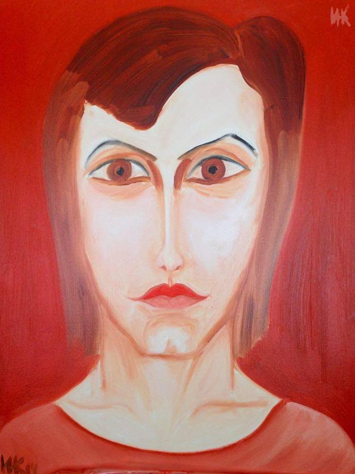 Olga's Portrait. 2014