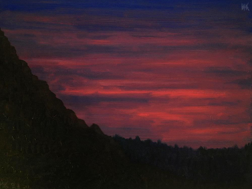 Sunset. 2001
