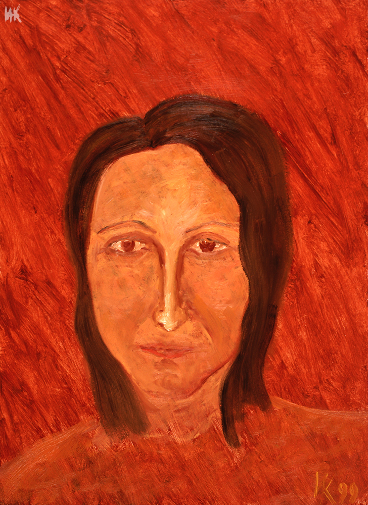 Dana`s Portrait. 1998